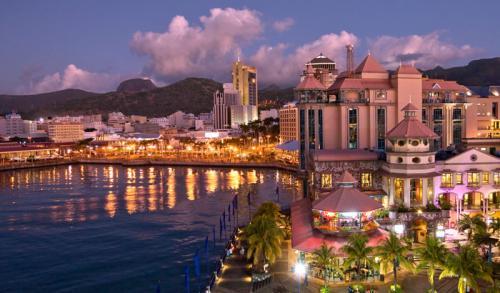Downtown Port Louis Mauritius